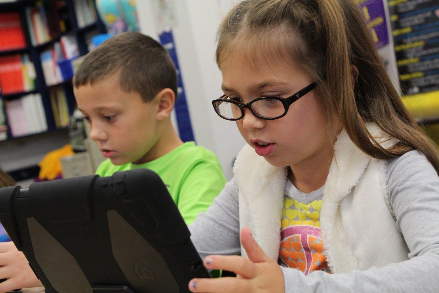 KidsCoin Workshops - Image of students learning